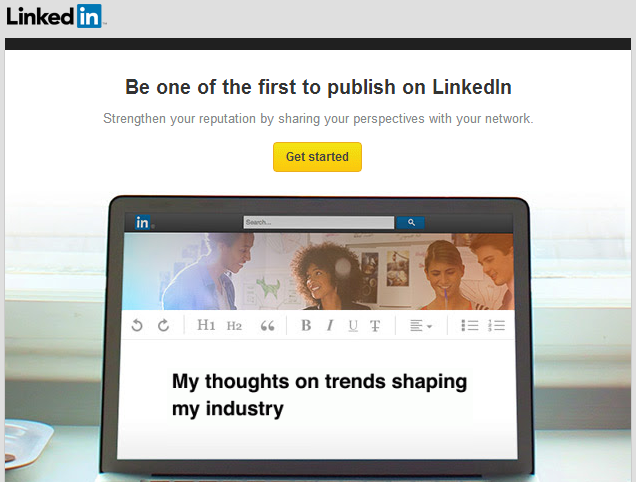 how to promote business on linkedin