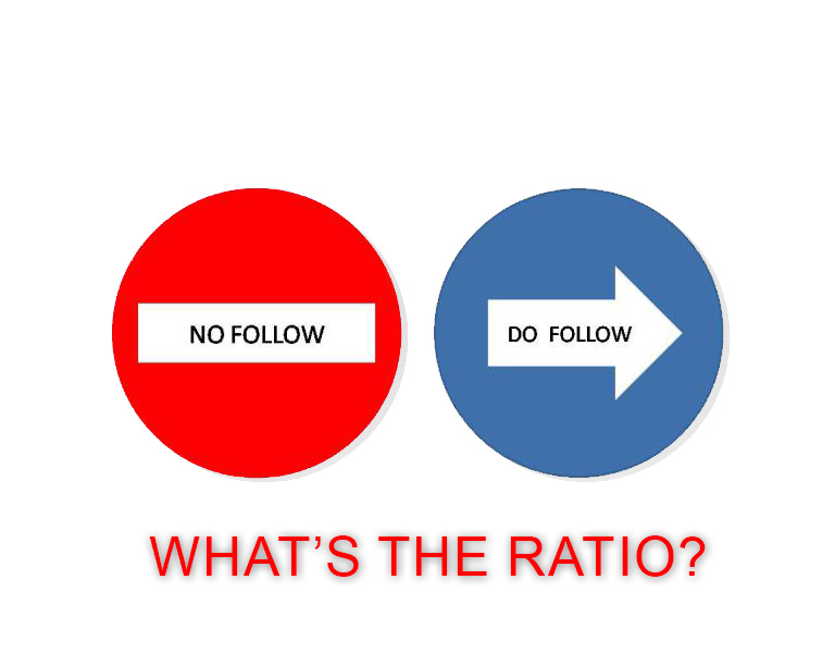 What is the Best Dofollow vs Nofollow Ratio? It's not what you thought