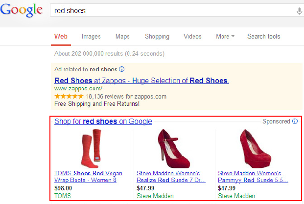 Google Product Listings