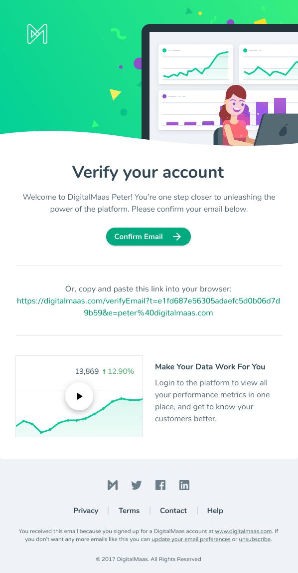 saas verification email