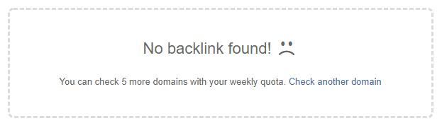 no backlinks found