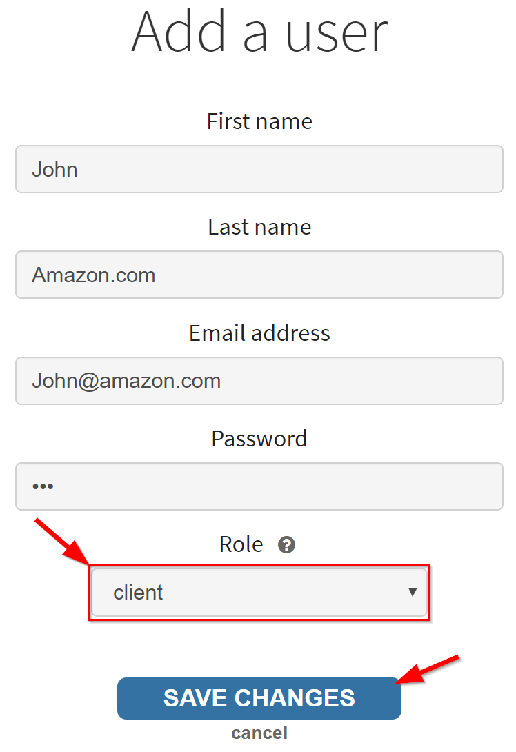 add agency as a client2