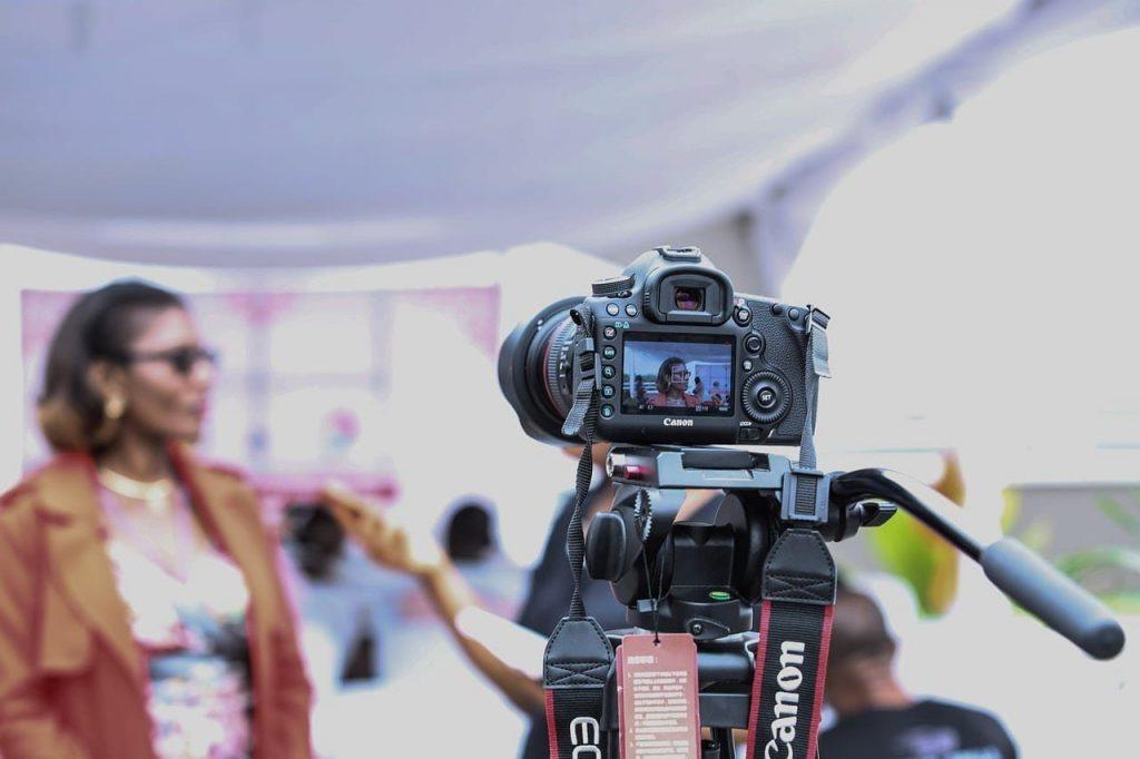 video marketing strategy in progress